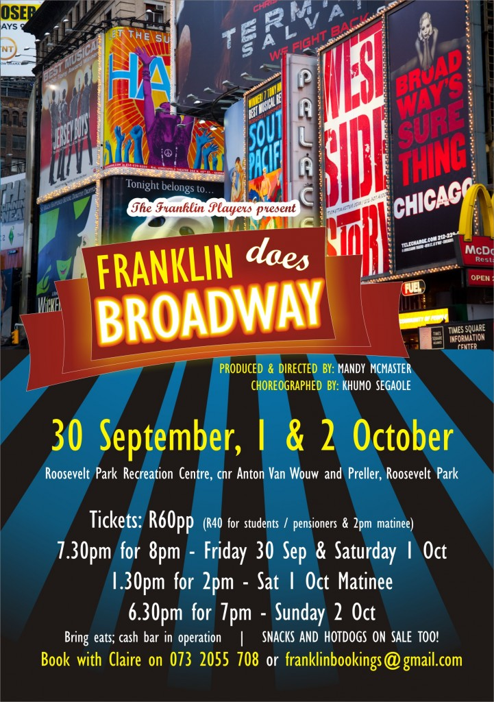 Franklin Does Broadway