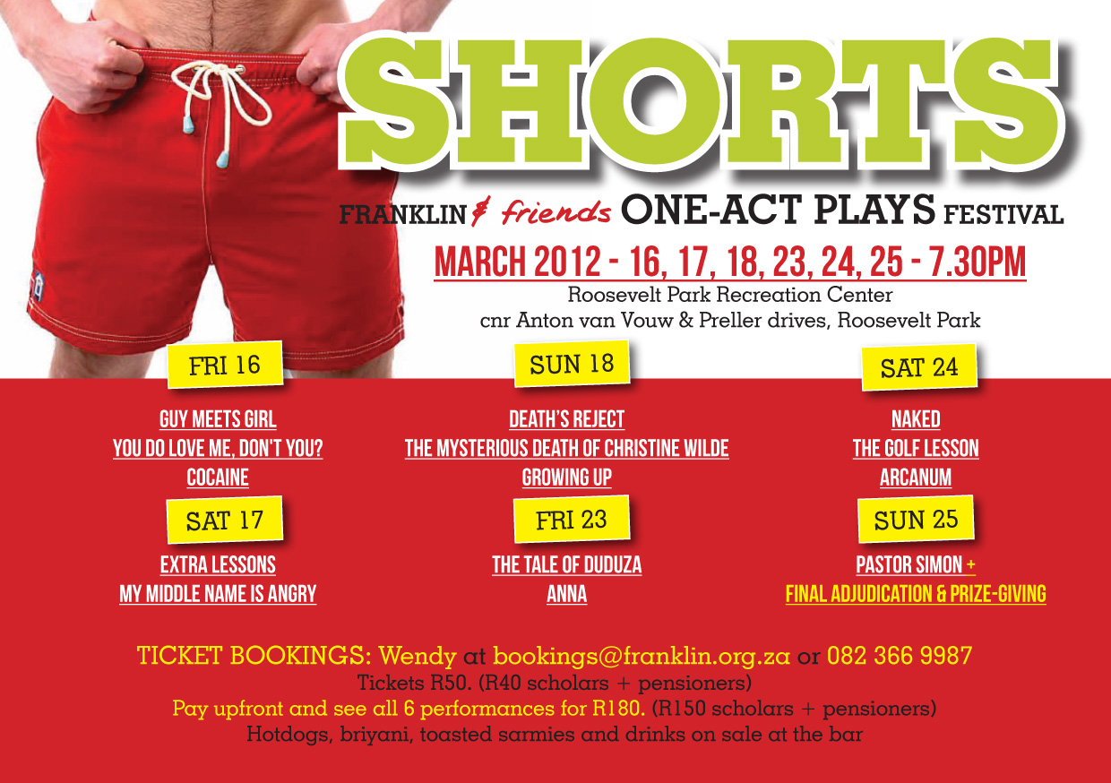 SHORTS!! one act play festival 2012