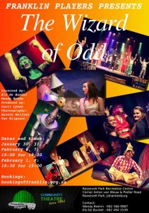The Wizard of Odd, presented by Franklin Players