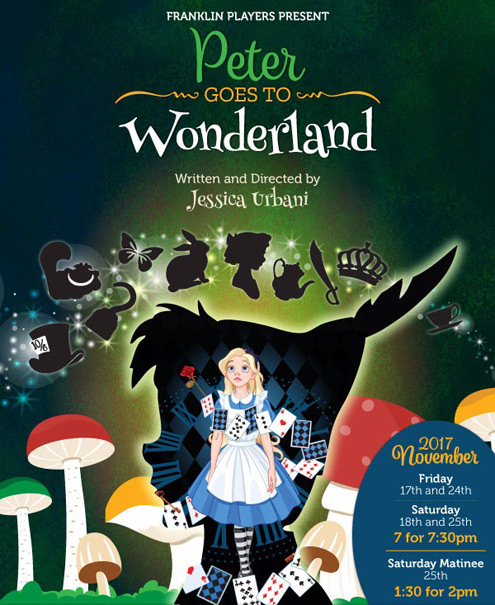 Franklin Players year-end pantomime - Peter Goes To Wonderland